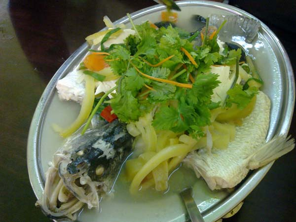TEOCHEW STYLE STEAM FISH