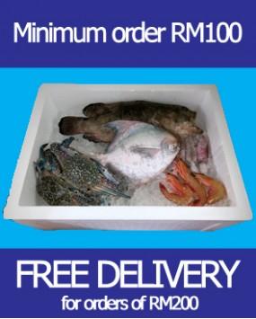 Minimum order RM100